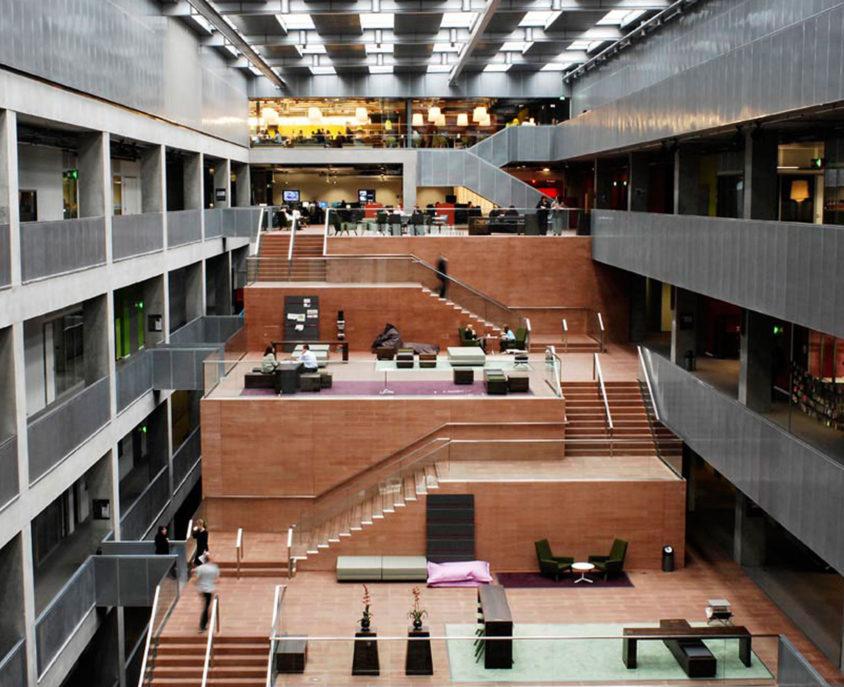 BBC Scotland Headquarters at Pacific Quay, Glasgow