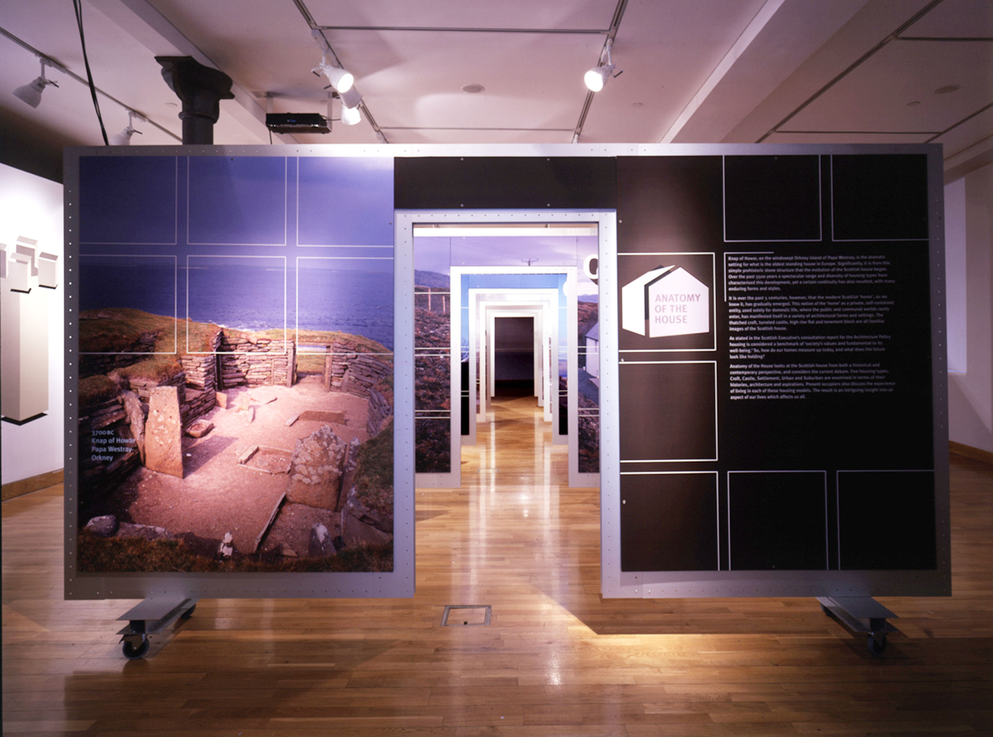 Anatomy Of The House Travelling Exhibition Graven
