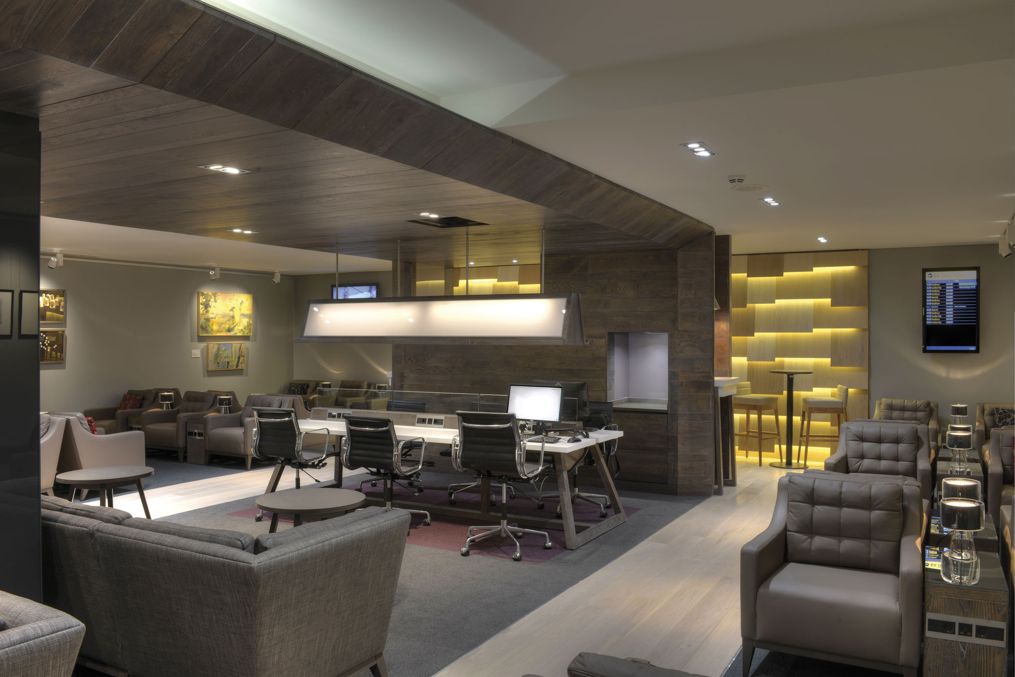 British Airways Executive Lounge, Glasgow Airport   Graven