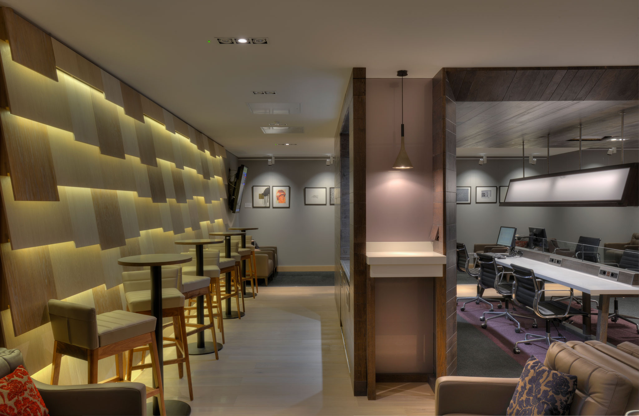 British airways lounge glasgow airport graven for Design hotel glasgow