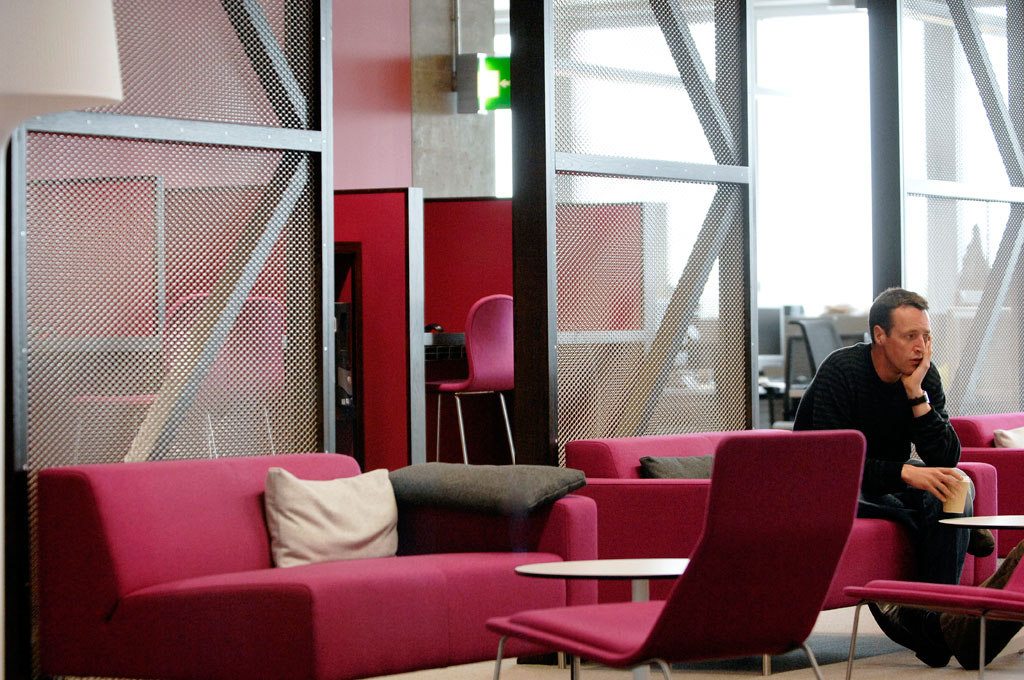 BBC Scotland Headquarters At Pacific Quay Glasgow
