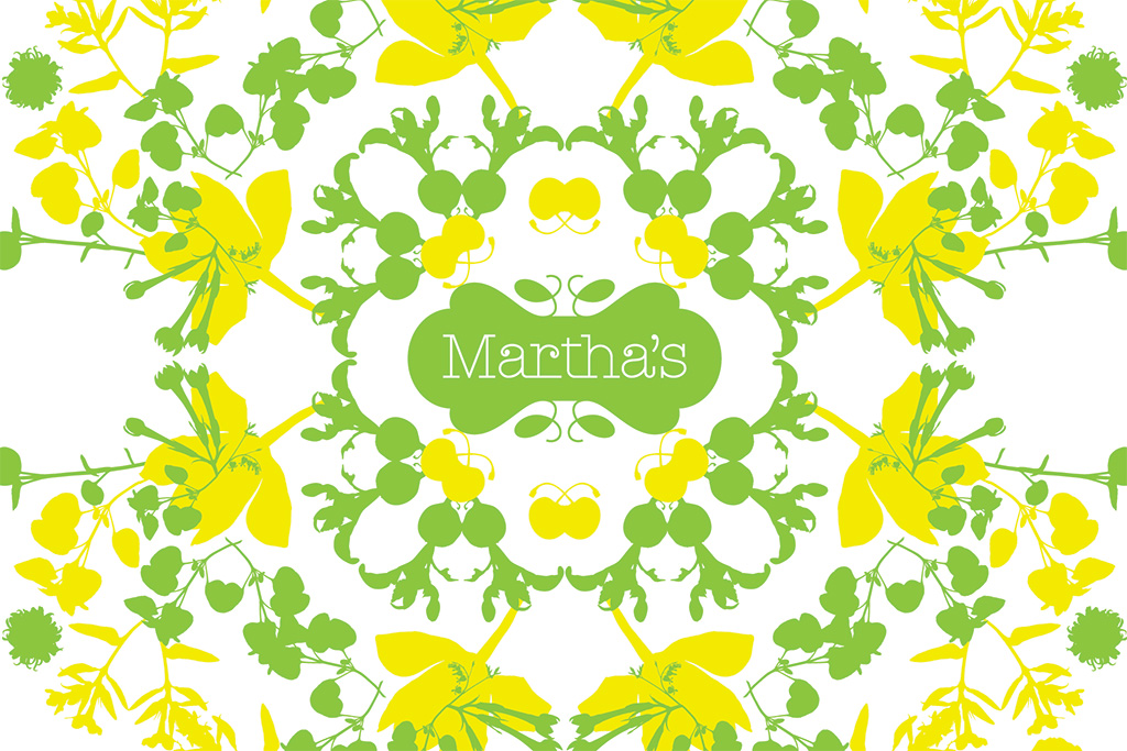 Martha's visual and interior brand