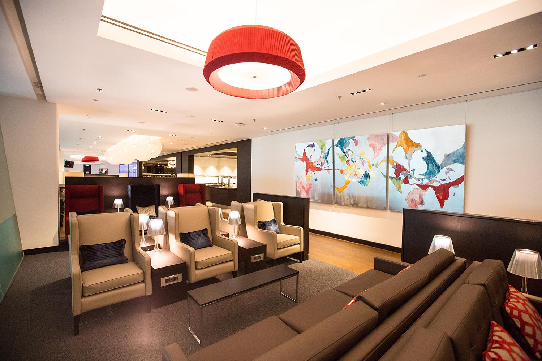 British Airways Lounge, Changi Airport Singapore
