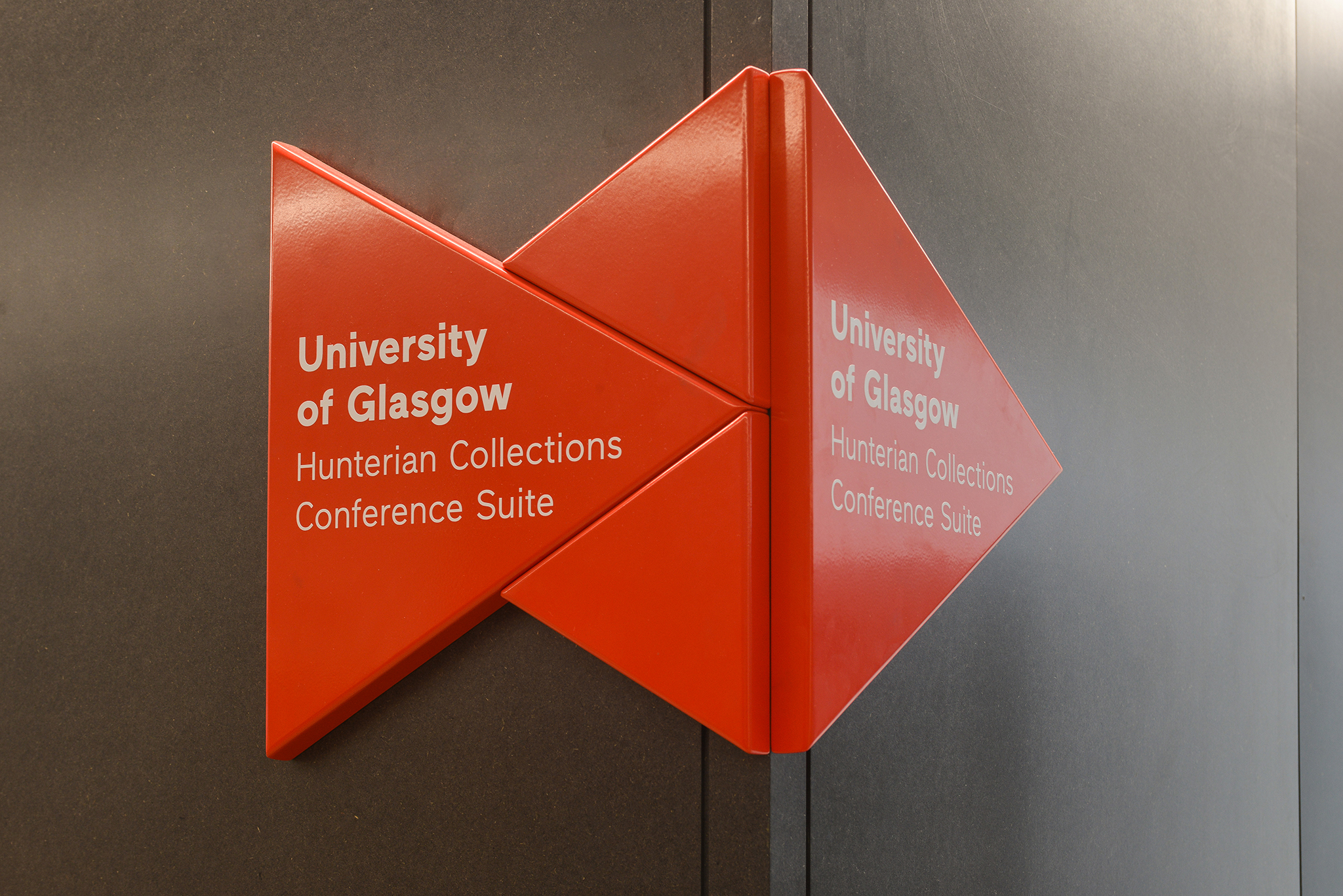 Kelvin Hall signage and wayfinding © Renzo Mazzolini Photography