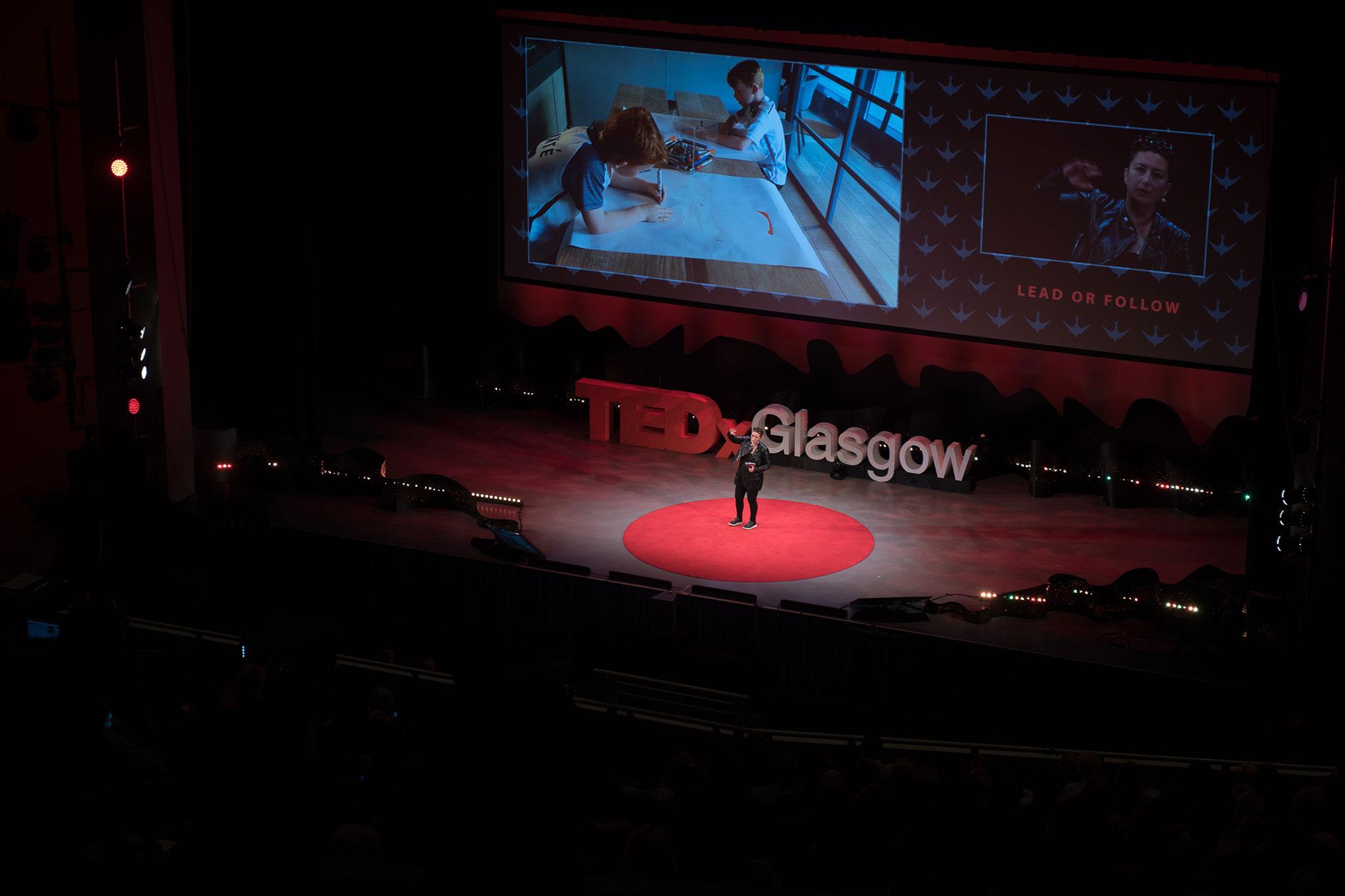 Janice Kirkpatrick at TEDxGlasgow 2017 ©TEDxGlasgow