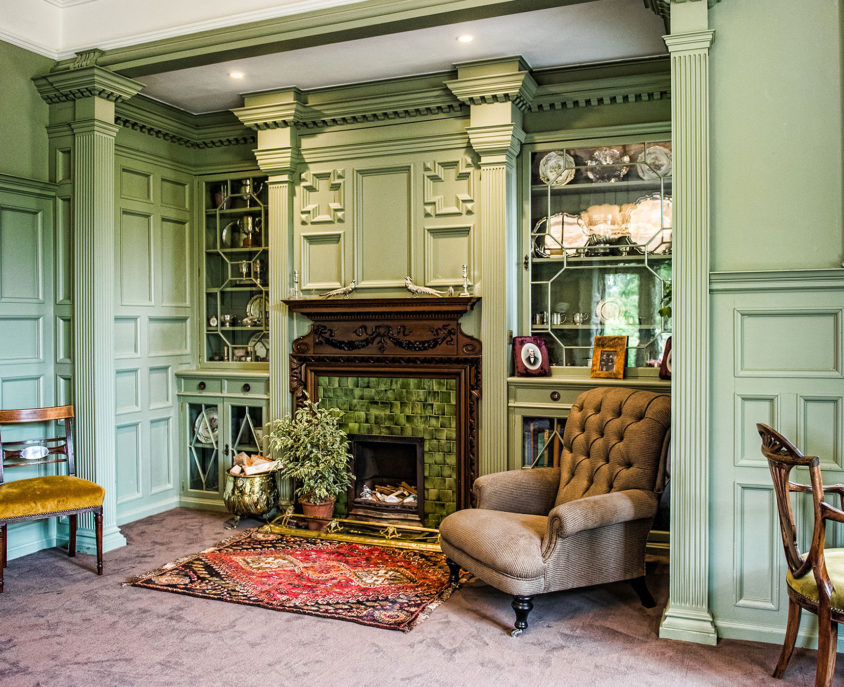 Douneside House set within the gardens and estate at Cromar, near Aboyne in Aberdeenshire