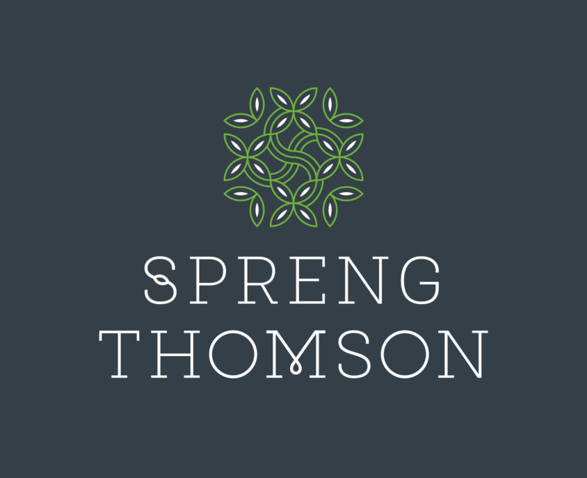 Spreng Thomson visual brand