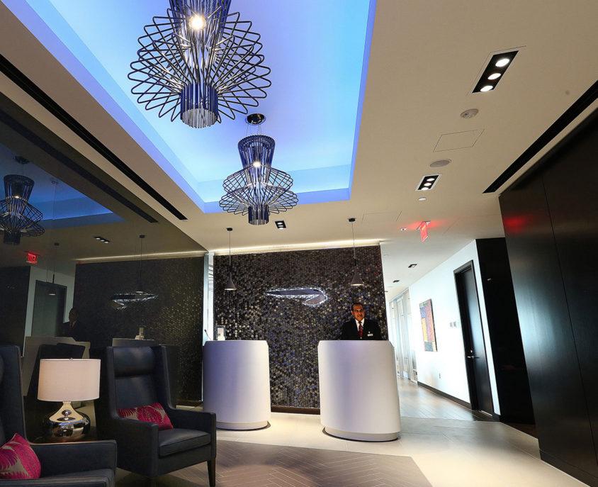 British Airways Lounge, Washington Dulles International Airport