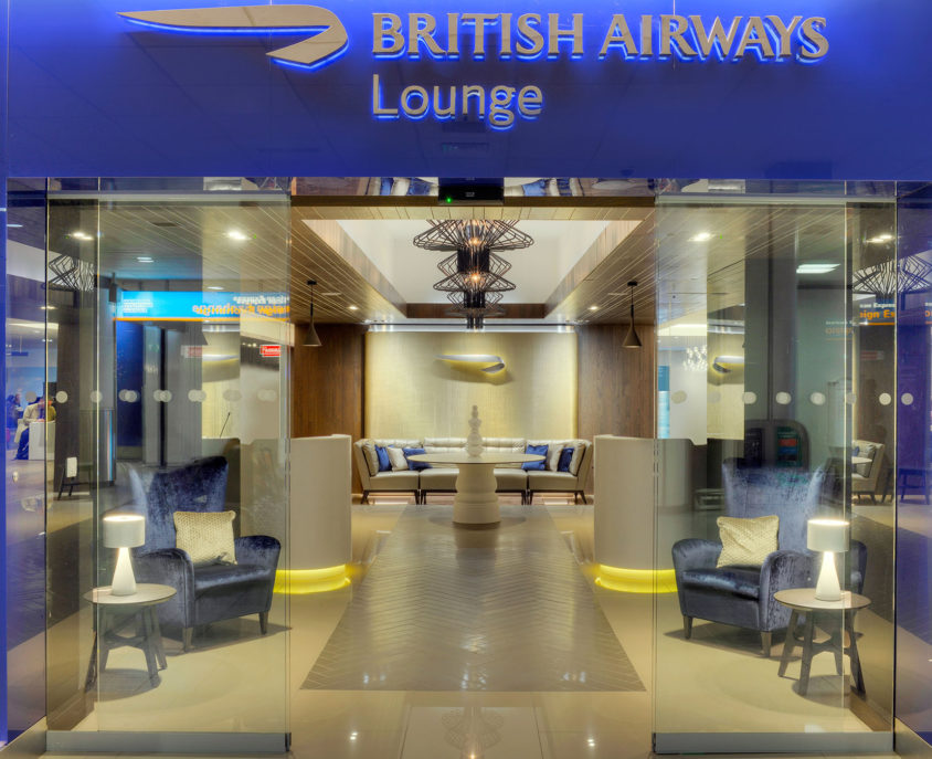 British Airways Lounge, Edinburgh Airport