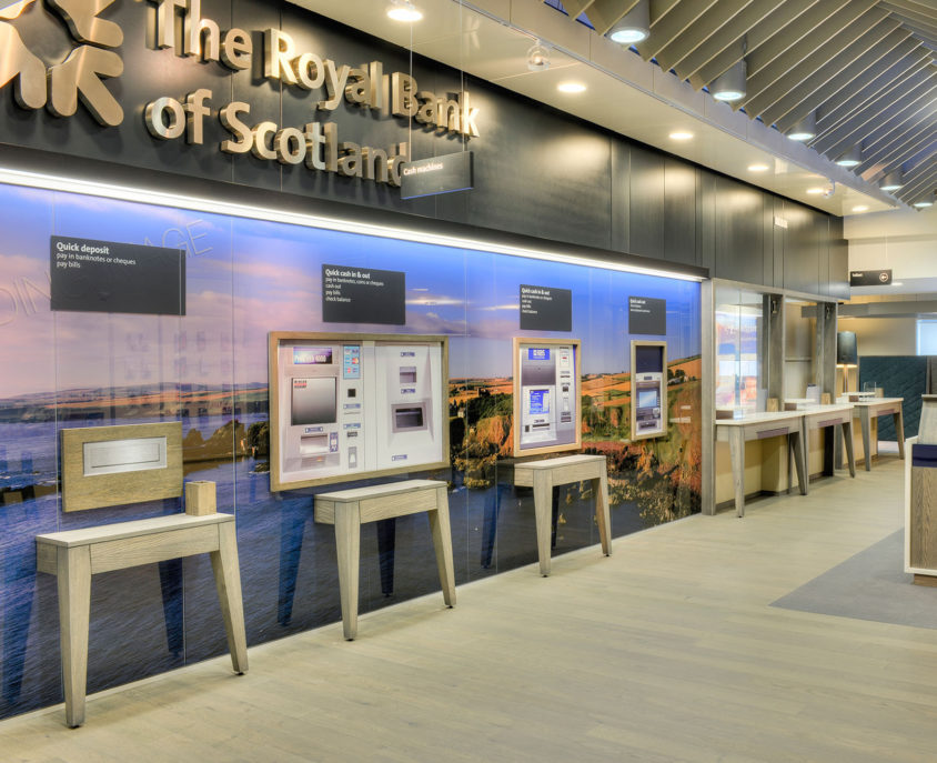 Royal Bank of Scotland retail banking concept environment
