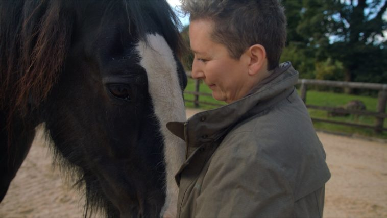 janice and horse